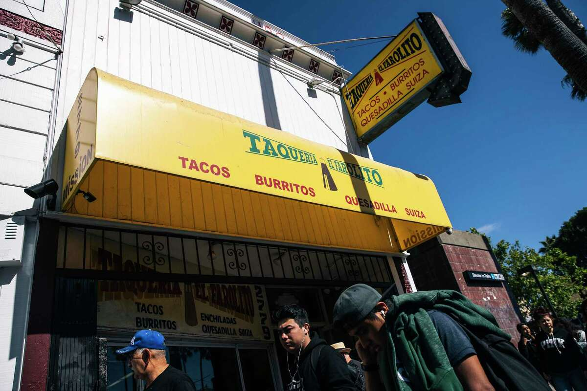 Home-grown restaurant El Farolito's denial by the city to set up shop in the North Beach neighborhood has some thinking if formula retail laws are hurting smaller businesses instead of big chains. The restaurant is shown in a 2019 file photo.