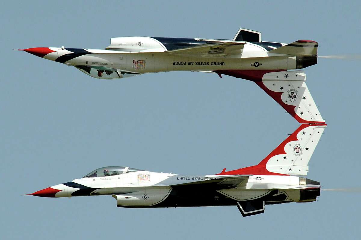The U.S. Air Force jet team the Thunderbirds will perform at Wings Over Houston. Also appearing will be the Canadian Forces Snowbirds.