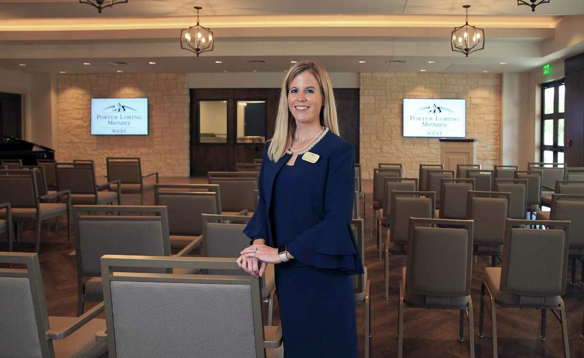 """Helen Loring Dear, president of Porter Loring Mortuaries, is doing something different with the newest location, on the far West Side. """"Funerals have changed over the years,"""" she explains."""