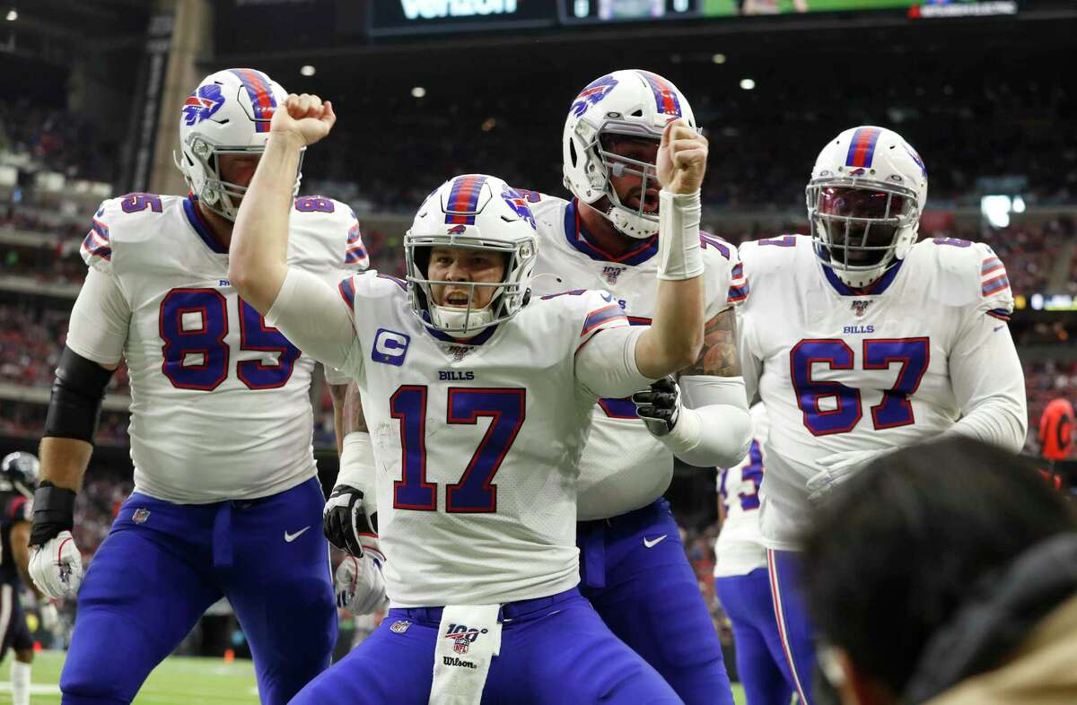 The Texans defense can't afford to let Josh Allen celebrate like he did in the playoffs two seasons ago.