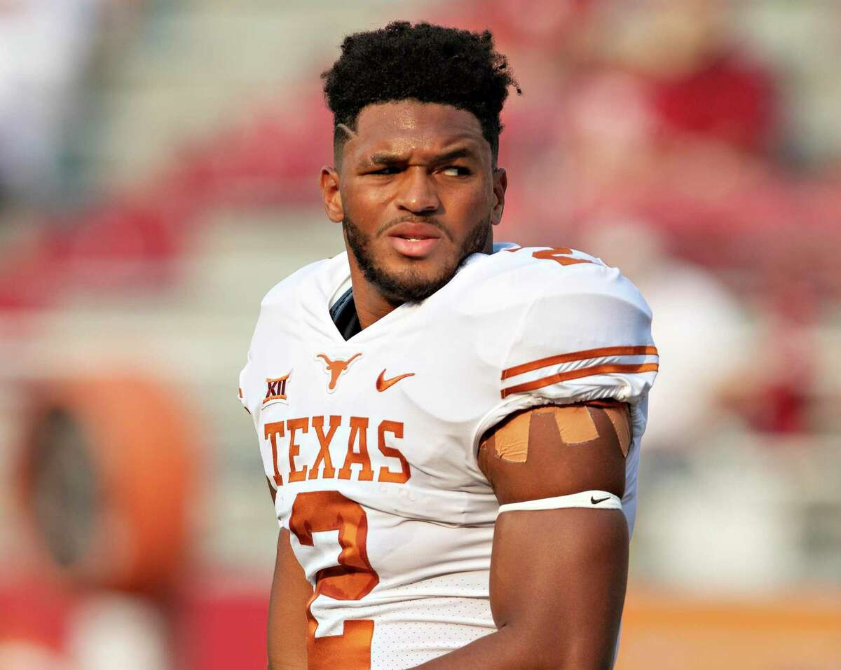 In Texas' last two games, Roschon Johnson accounted for 176 rushing yards and three touchdowns in routs of Rice and Texas Tech.