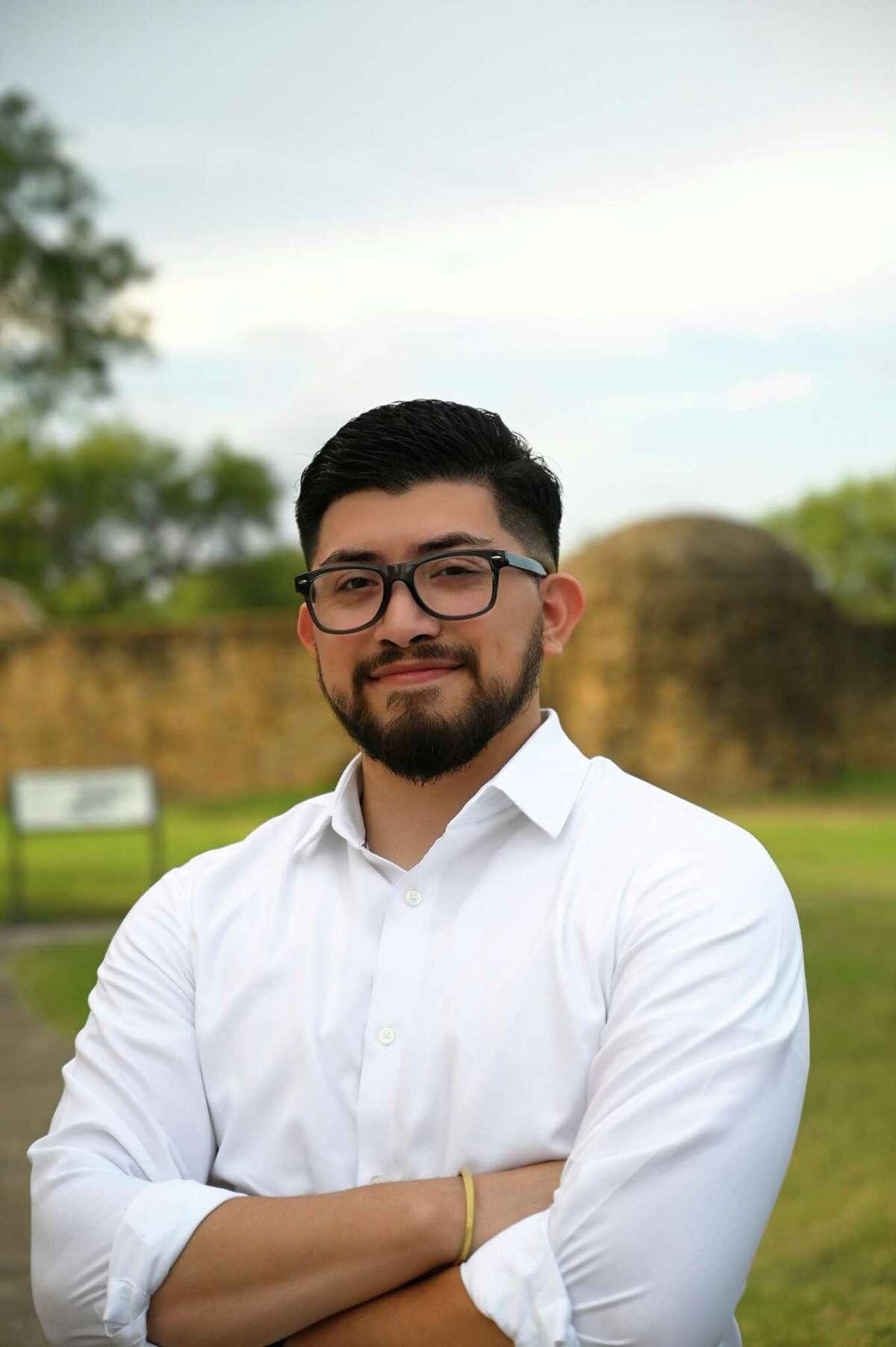 Frank Ramirez, a staff member of San Antonio City Councilwoman Ana Sandoval, is one of three Democrats hoping to represent House District 118 in San Antonio.