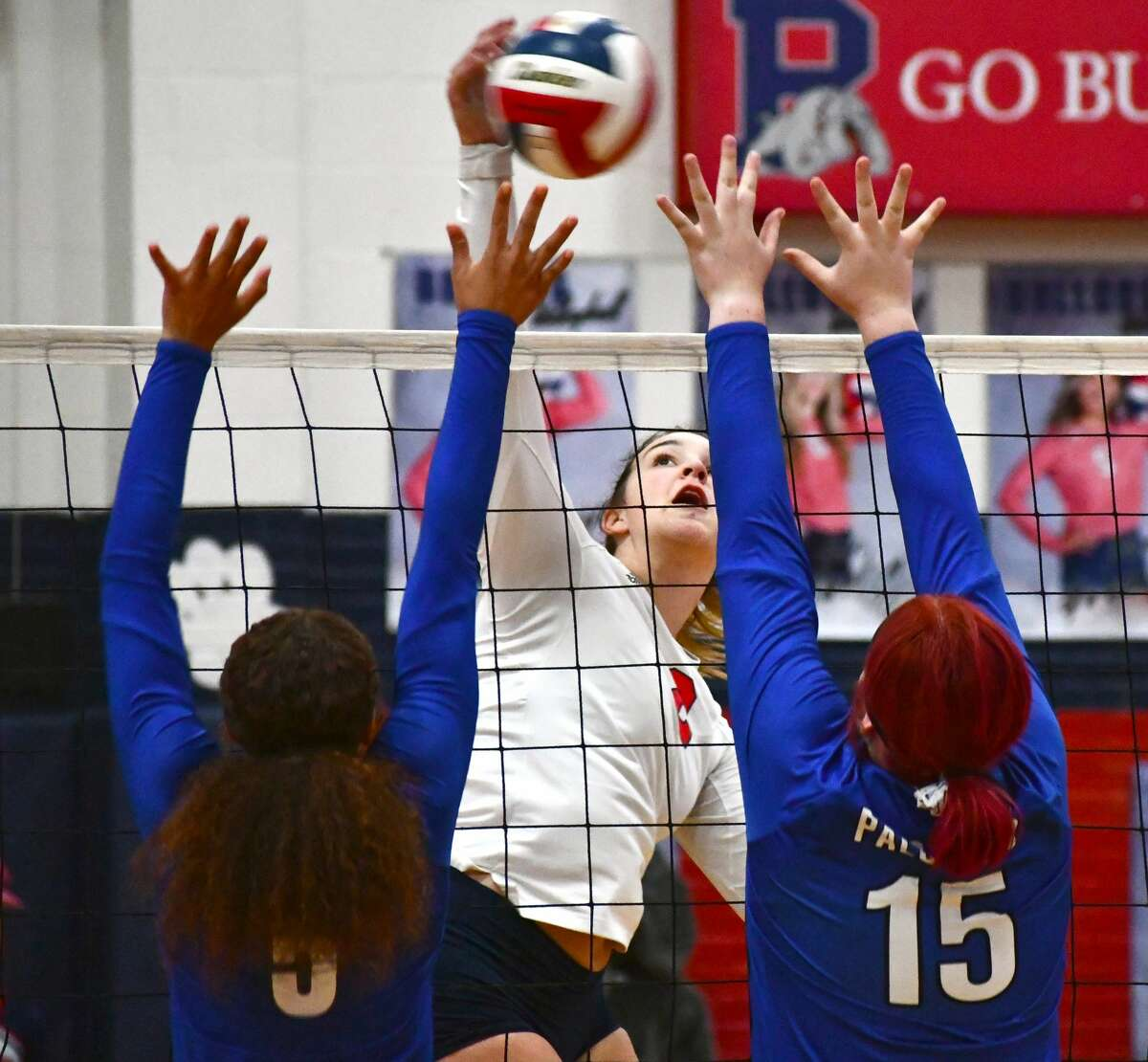 The 20th-ranked Plainview volleyball team swept Amarillo Palo Duro 3-0 in a District 3-5A contest on Tuesday in the Dog House.