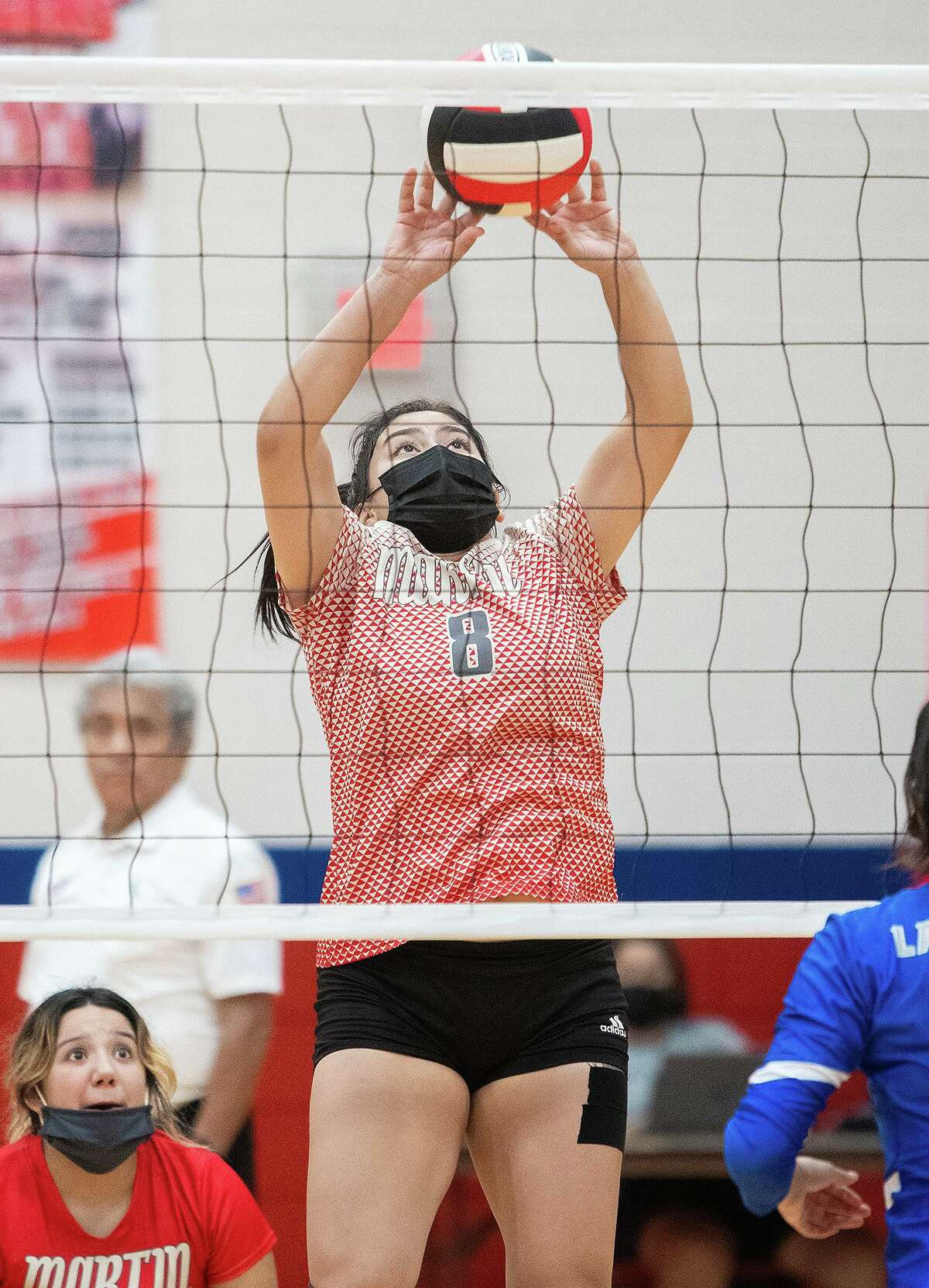 Ivy Liendo and the Martin Lady Tigers swept their matchup against Cigarroa on Tuesday.