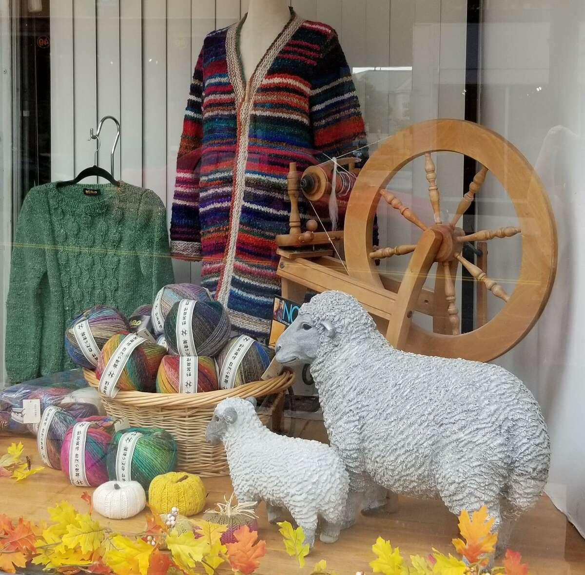 Don't miss the Fall Yarn Crawl, which runs from Oct. 1-11.