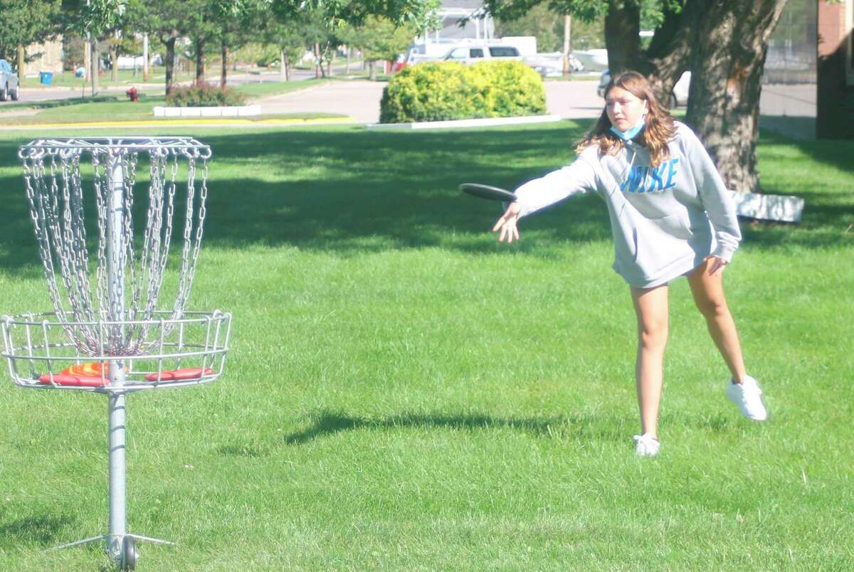 The Armory Youth Project kicked off its disc golf programin September. (File photo)