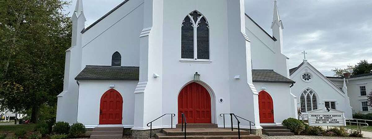 The Trinity Episcopal Church in Branford will be the site of a fair and book sale Saturday on the Town Green at 1011 Main St.