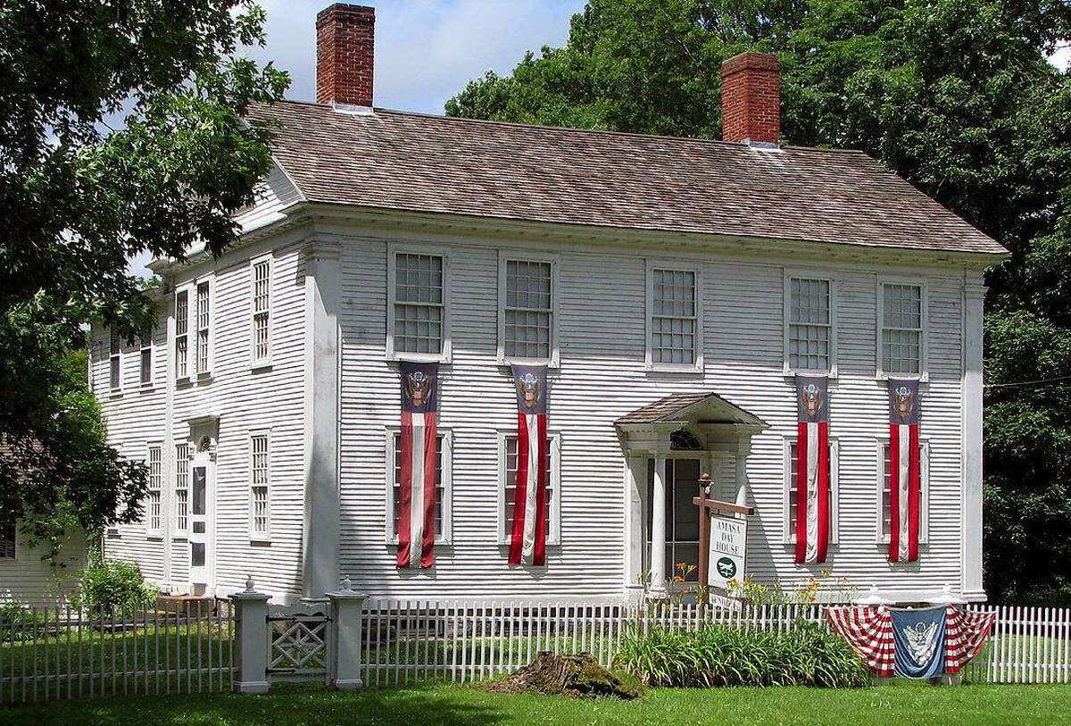 The Amasa Day House is found at 33 Plains Road, in the Moodus section of East Haddam.
