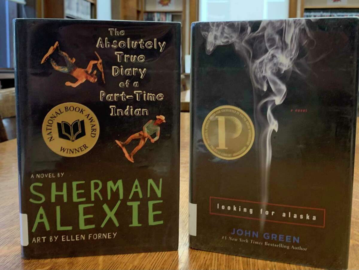 """""""The Absolute True Diary of a Part-Time Indian"""" by Sherman Alexie is listed as containing """"profanity"""" and """"sexual references.""""Author John Green, whose book """"Looking For Alaska"""" was the most challenged title in 2015 because of """"offensive language"""" and """"sexual situations"""" addressed the issue. He pointed out that most parents base their opposition on having read one page without the benefit of the context of the novel. (Courtesy photo)"""