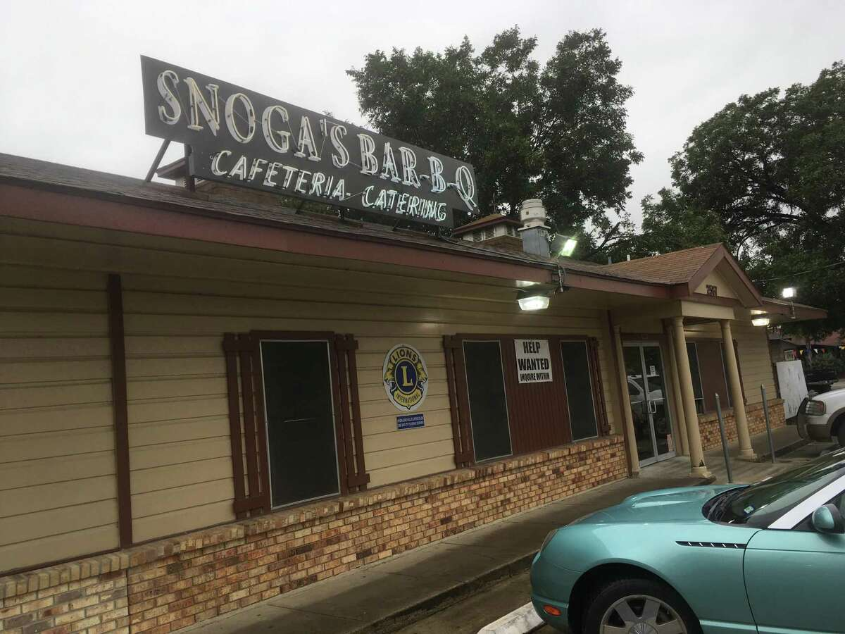 Snoga's Bar-B-Q has been in business since 1977.