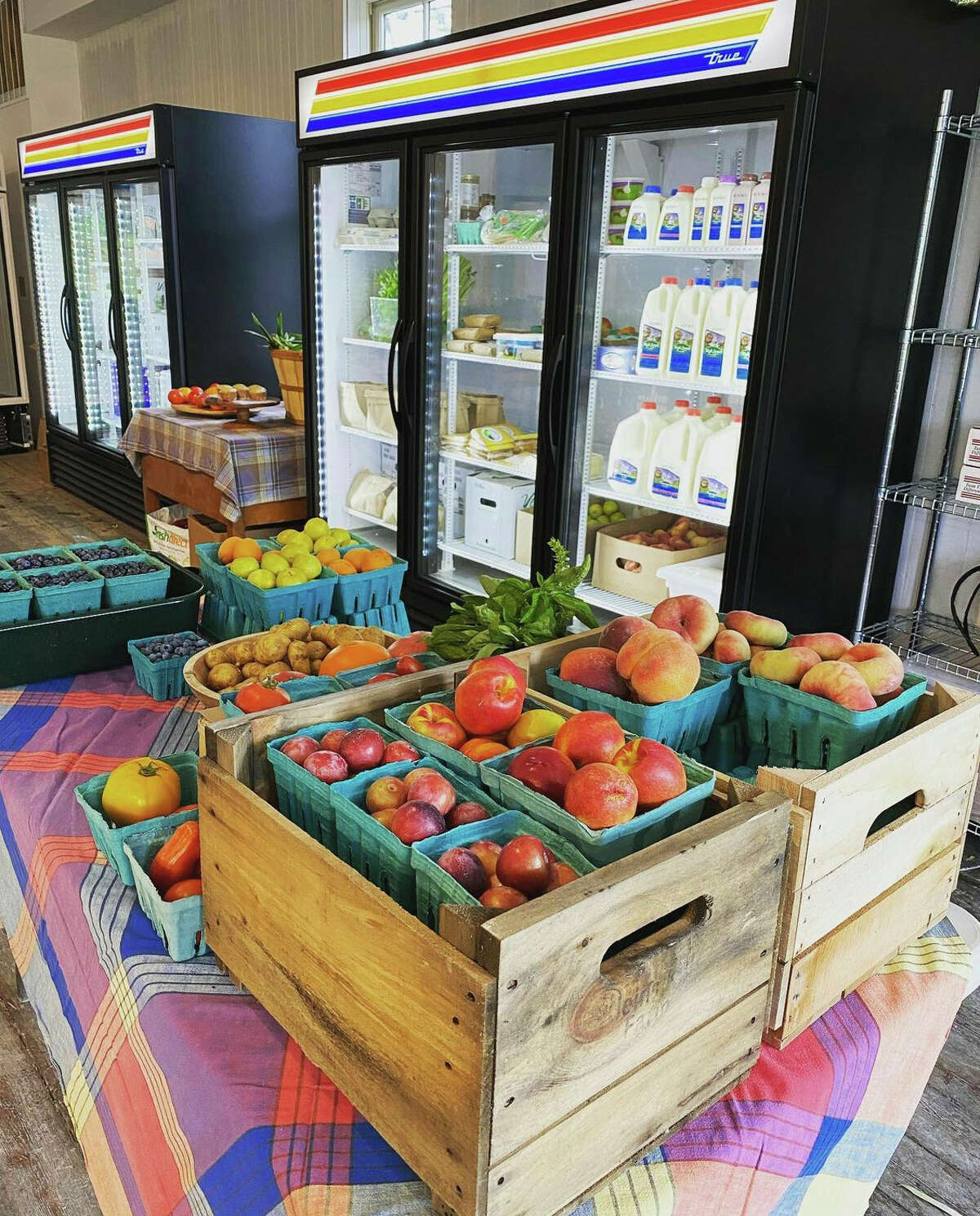 The seasonal New Lebanon Farmers Market, open 10 a.m. to 2 p.m. Sundays in the village through the end of October, recently launched a year-round indoor operation at 528 Route 20 in New Lebanon. It is open noon to 6 p.m. Wednesday to Saturday.
