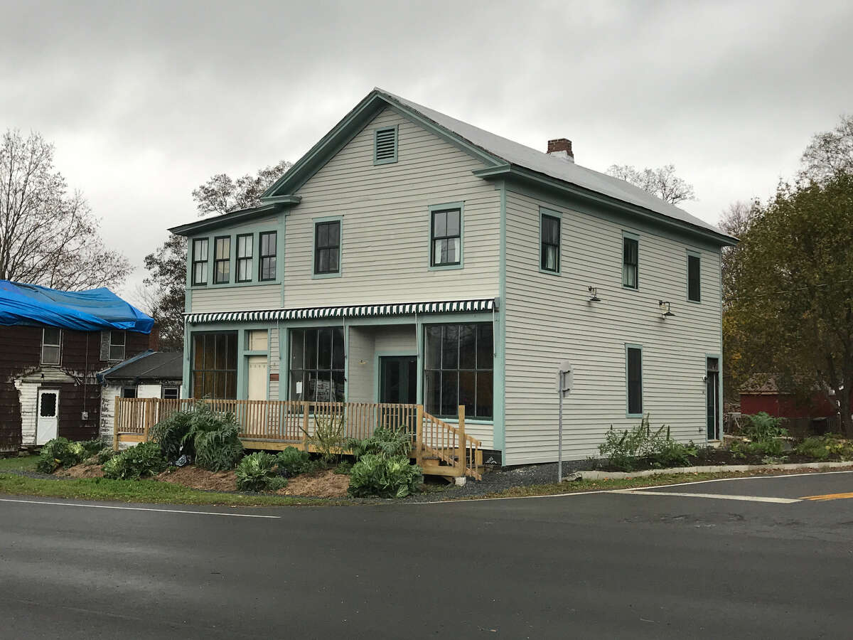 The seasonal New Lebanon Farmers Market, open 10 a.m. to 2 p.m. Sundays in the village through the end of October, recently launched a year-round indoor operation in this building at 528 Route 20 in New Lebanon. It is open noon to 6 p.m. Wednesday to Saturday.