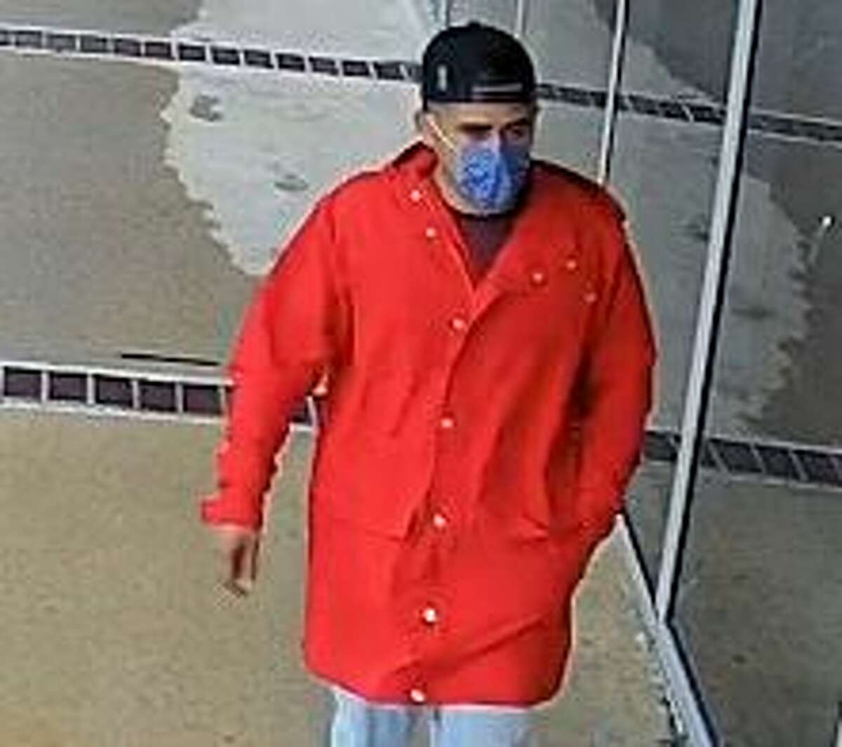 """A $5,000 reward is being offered for information leading to the identification and arrest of an alleged Houston bank robber authorities are calling the """"Little Red Riding Crook."""""""
