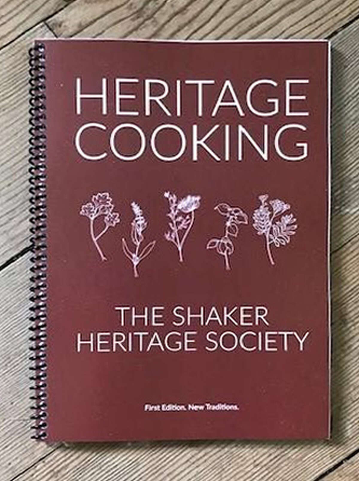 """""""Heritage Cooking,"""" a cookbook published by the Shaker Heritage Society in Latham, collects family recipes and related stories from Capital Region contributors. It will be launched at an event at the Shaker Heritage Site in Latham on Oct. 2, 2021."""