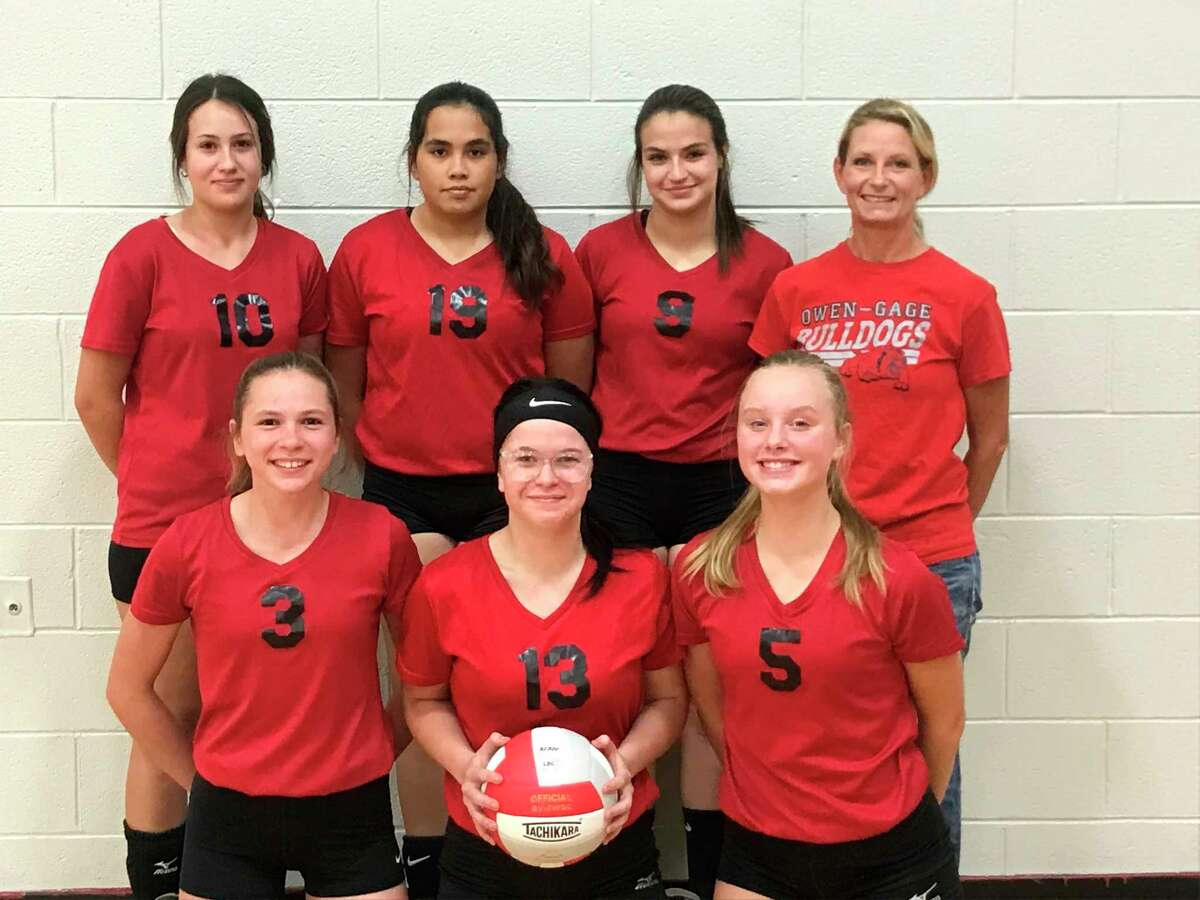 The Owendale-Gagetown Lady Bulldogs lost to Peck as part of Volleyball action on Tuesday night. (Courtesy Photo)