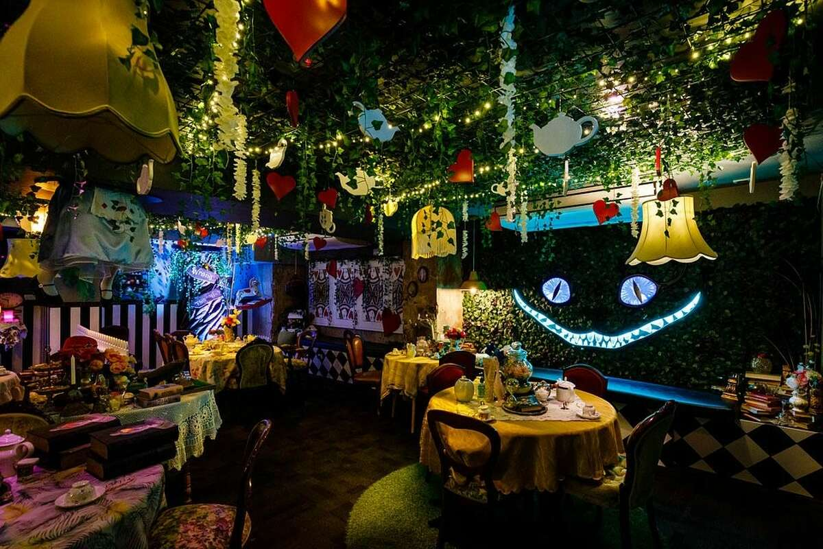 Alice in Wonderland cocktail party coming to Seattle.