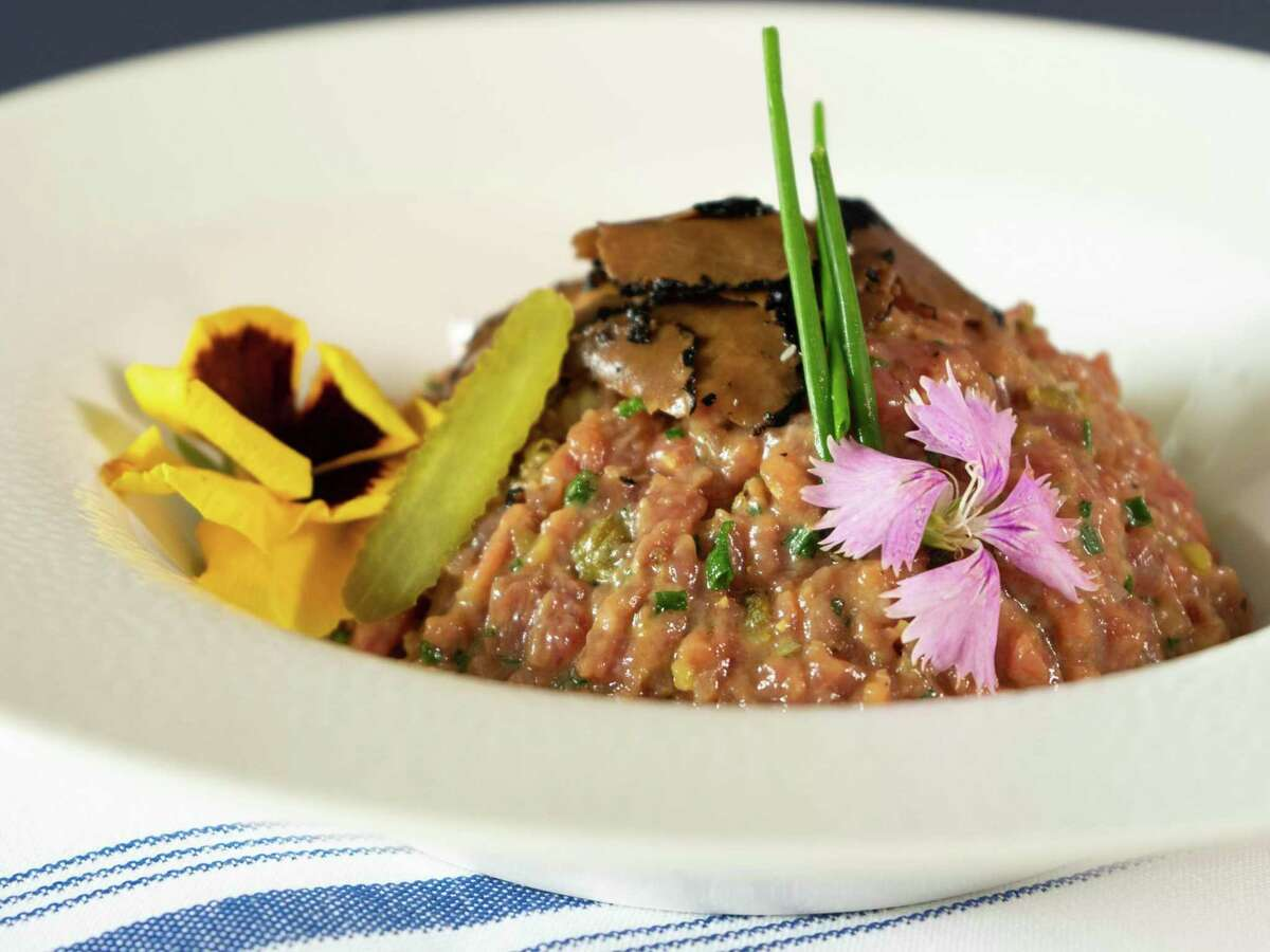 Bringing classic French cooking like this steak tartare, Tardif's American Brasserie is scheduled to open Oct. 20 near the Dominion on the North Side.