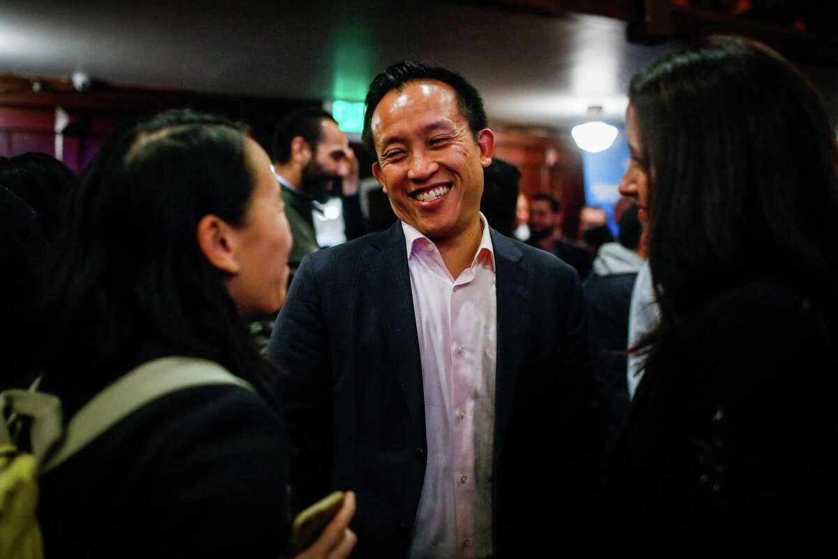 Assemblymember David Chiu (shown in a 2019 file photo) was tapped Wednesday to be San Francisco's new city attorney.