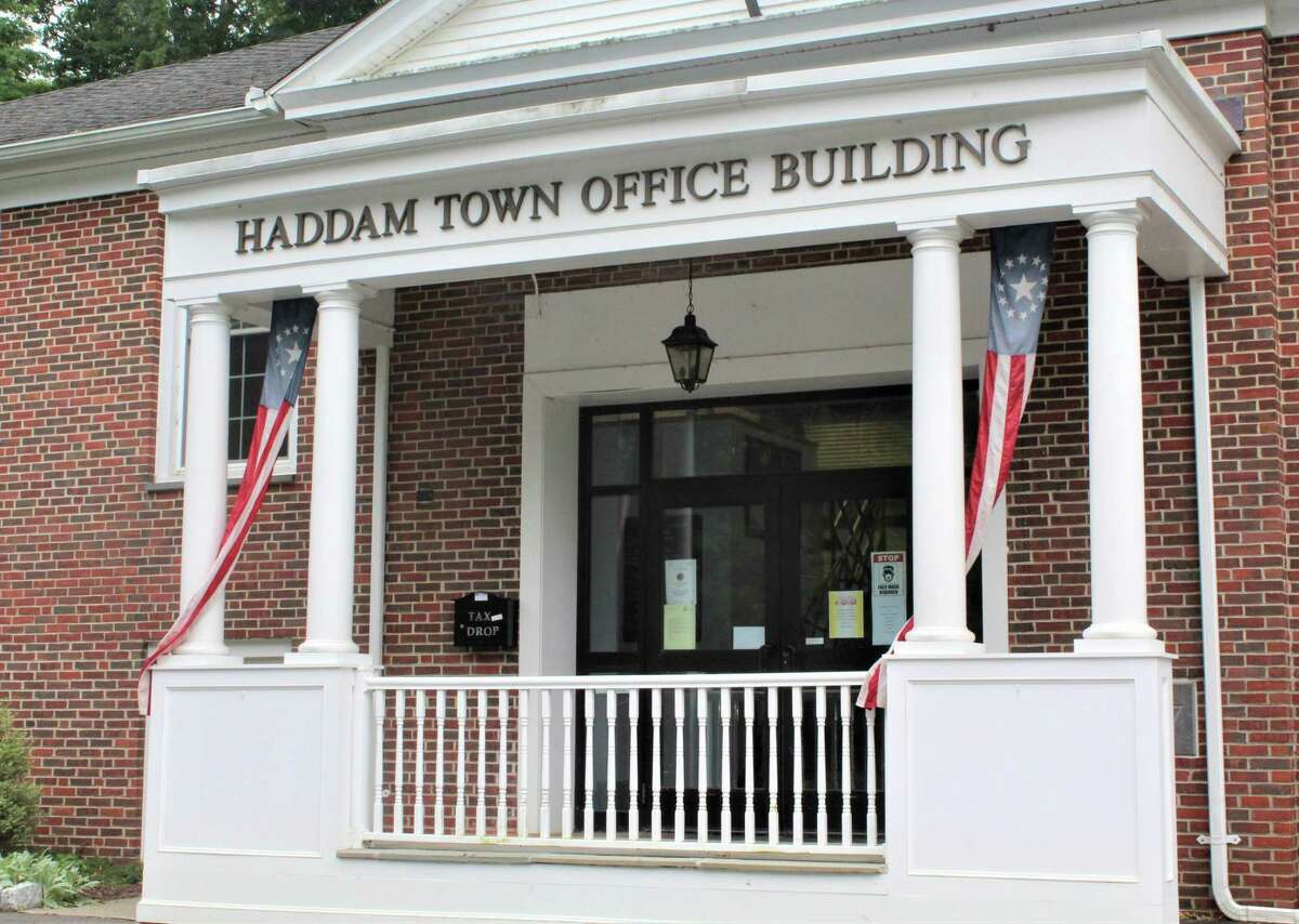 Haddam Town Hall is located at 30 Field Park Drive.