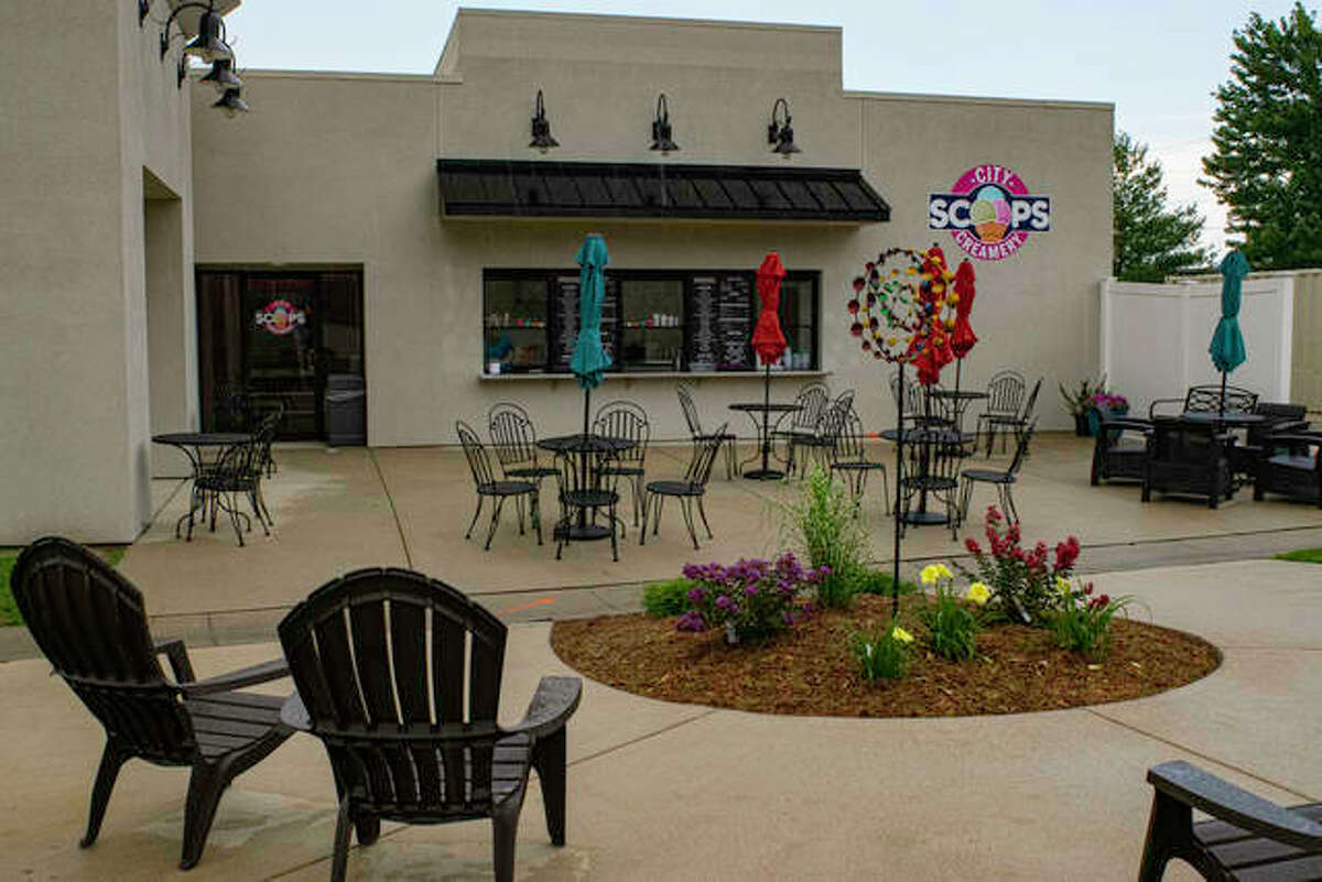 City Scoops Creamery's patio can sit around 30 patrons. The establishment will be taking part in SAVOR 2021, which is hosted by the Edwardsville, Glen Carbon Chamber of Commerce.