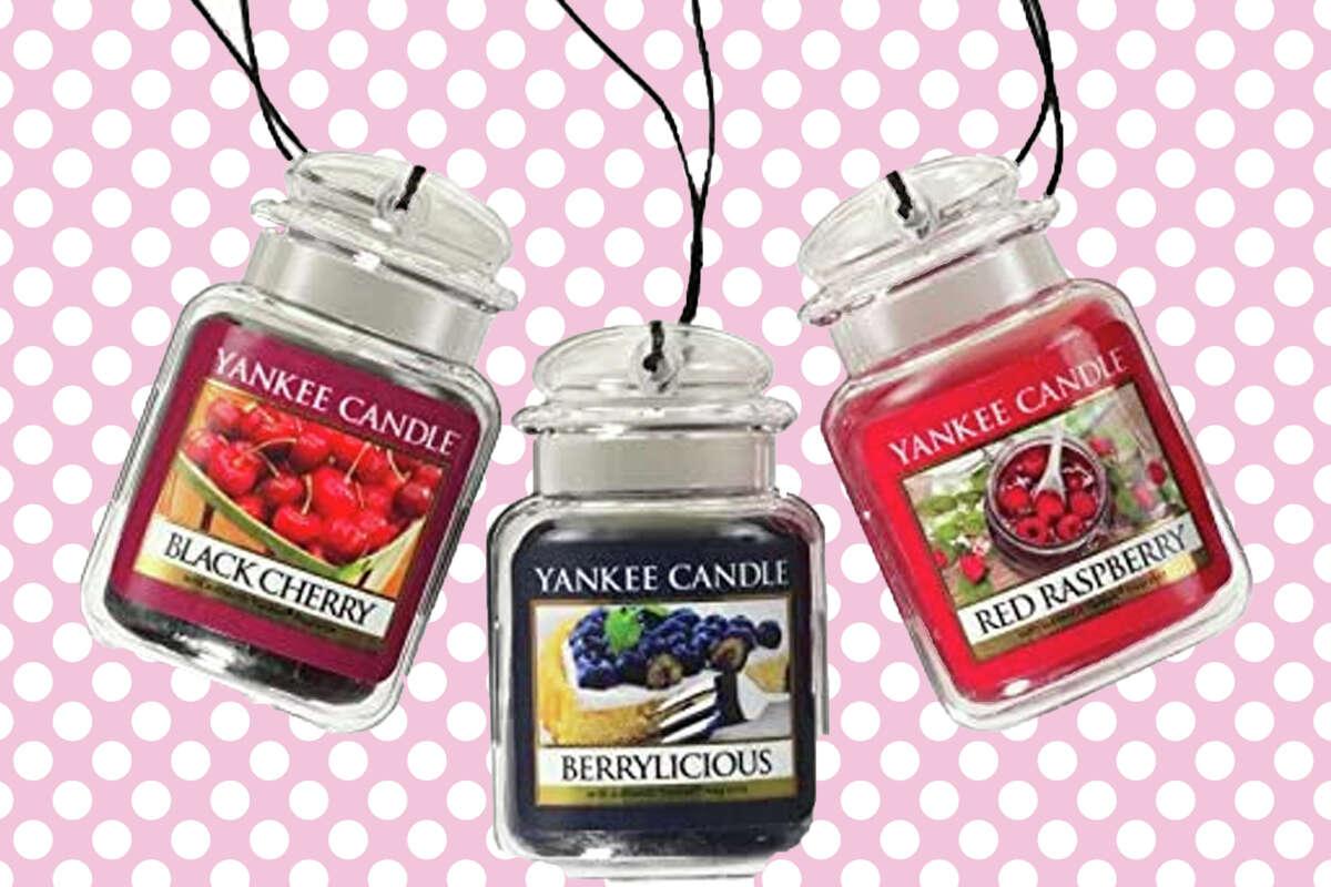 3-pack of Yankee Candle air fresheners