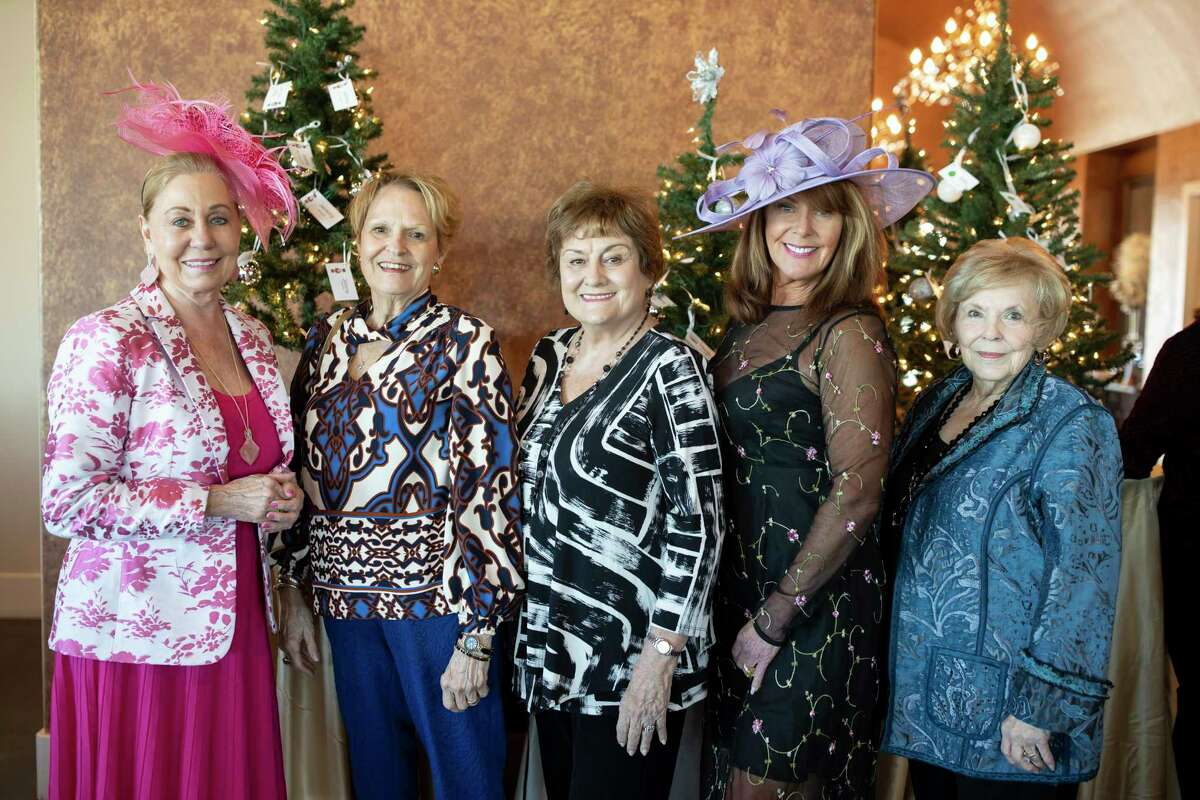 Mary Wagers (left), Nan McShan, Lynn Winker and Pat Bourgeois (right) are pictured at the 2019 FAITH Fighting Cancer Annual Christmas Tea fundraiser at Westpointe Lakeside Venue. The group's next fundraiser is set for Oct. 16.