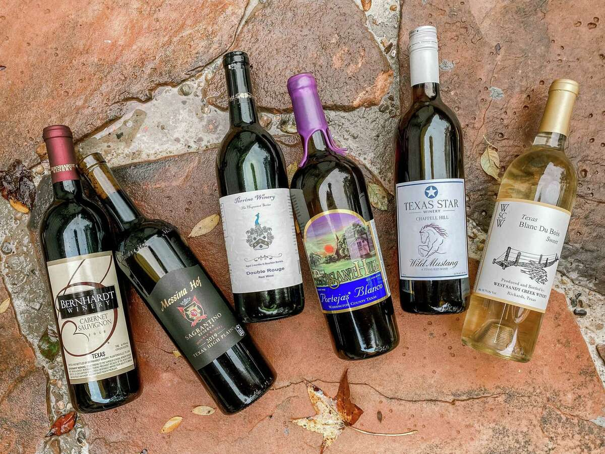 Enjoy the wines from the six wineries on the Texas Bluebonnet Wine Trail in celebration of Texas Wine Month.