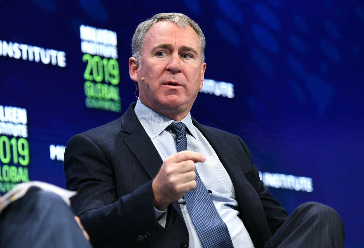 Ken Griffin is the wealthiest man in Illinois, currently worth about $16.1 billion. Griffin runs Citadel, a Chicago-based hed fund firm that manages around $34 billion in assets, according to Forbes, a firm he founded in 1990. Griffin has donated $1 billion to charities throughout his lifetime and has bought $800 million in property in recent years. He was #34 on Forbes' 400 in 2020. (Photo by Michael Kovac/Getty Images)