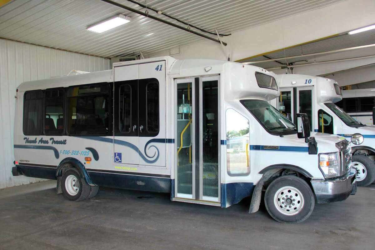 Thumb Area Transit received federal funding that would help build a new facility with the infrastructure to support electric vehicles. TAT director Ken Jimkowski said the current facility was meant for 15 vehicles while it currently has over 50. (Robert Creenan/Huron Daily Tribune)