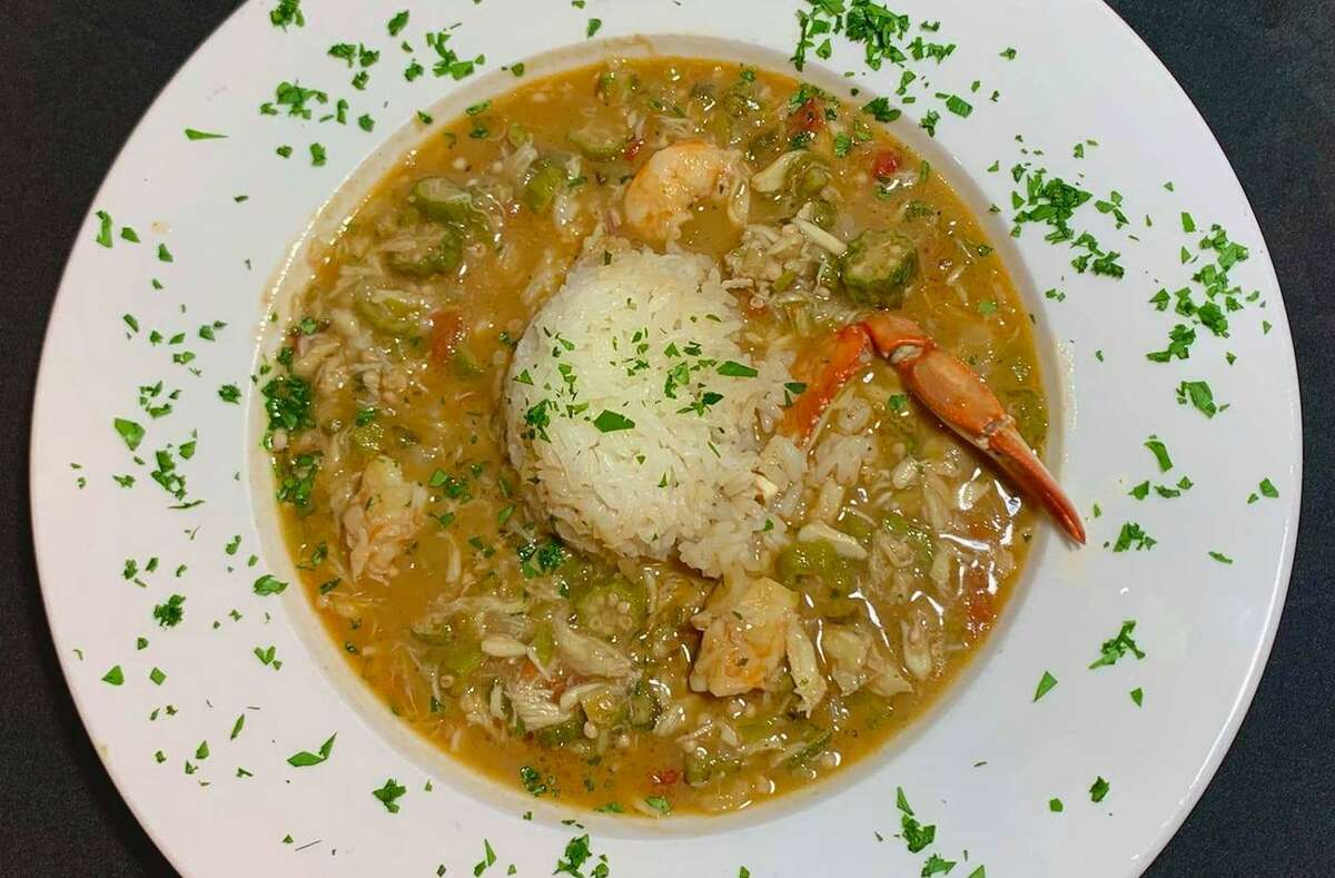 Seafood gumbo from Cravorites