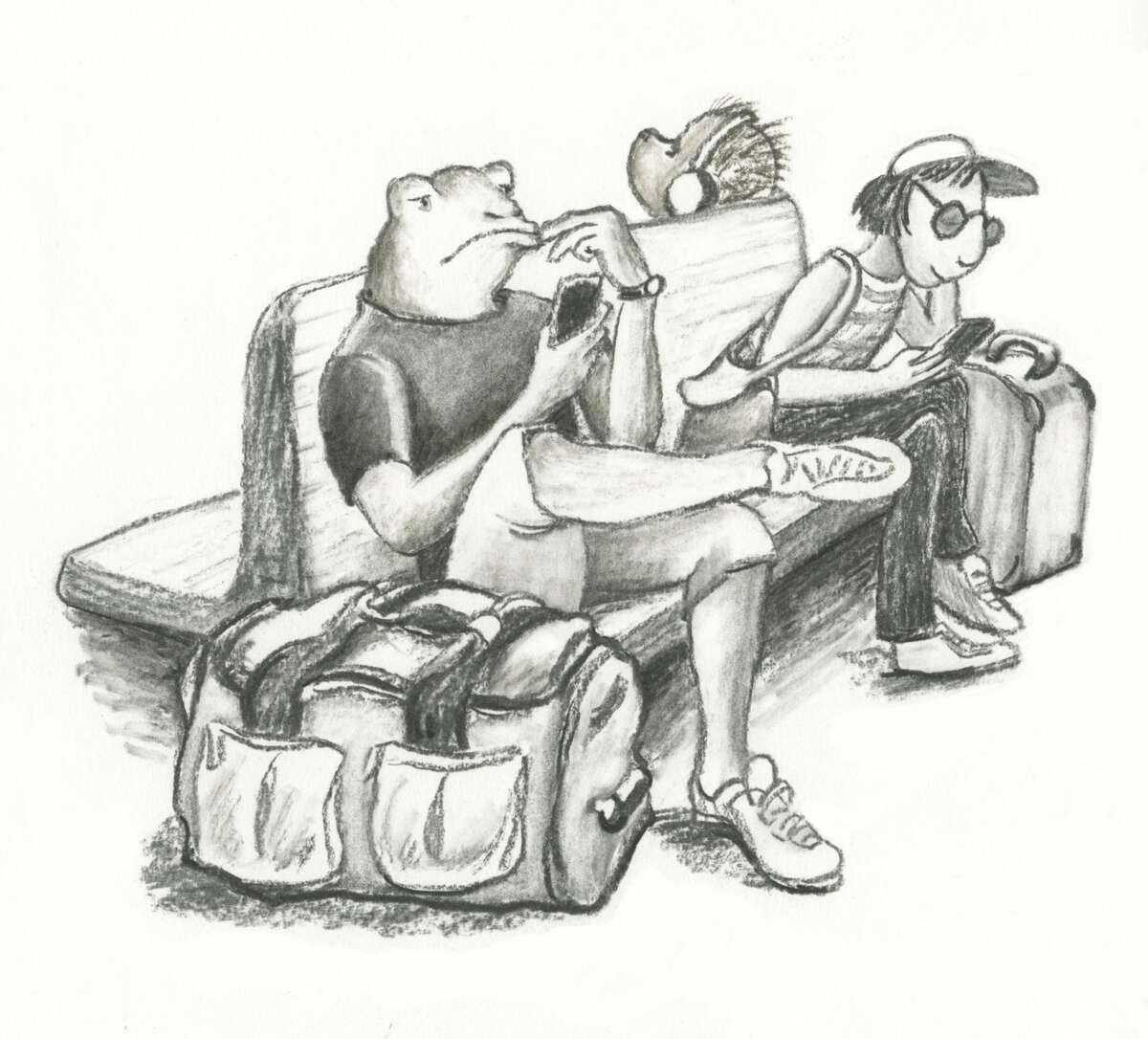 """Waiting - Grand Central"" Betsy Wallin"
