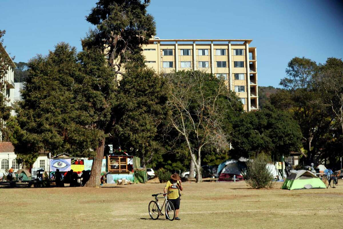 People's Park in Berkeley has been a grassy open space for more than 50 years, serving as a haven for the homeless and the site of violent clashes between students and police in the 1960s. UC is likely to build housing there, over the objection of opponents who say the park's legacy should be preserved.