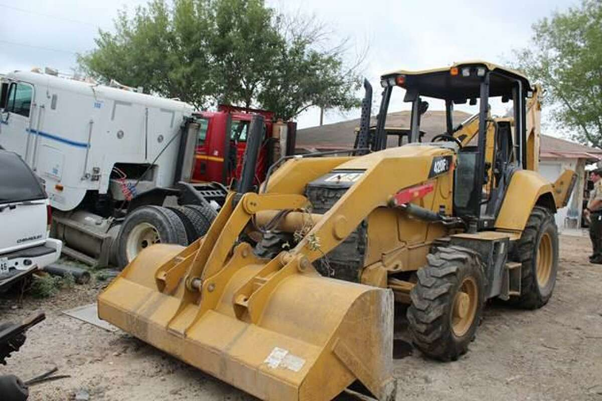 This is one of two Caterpillars recovered by the Webb County Sheriff's Office. Authorities said the machinery had a combined value of $190,000 and was reported stolen out of Dallas.