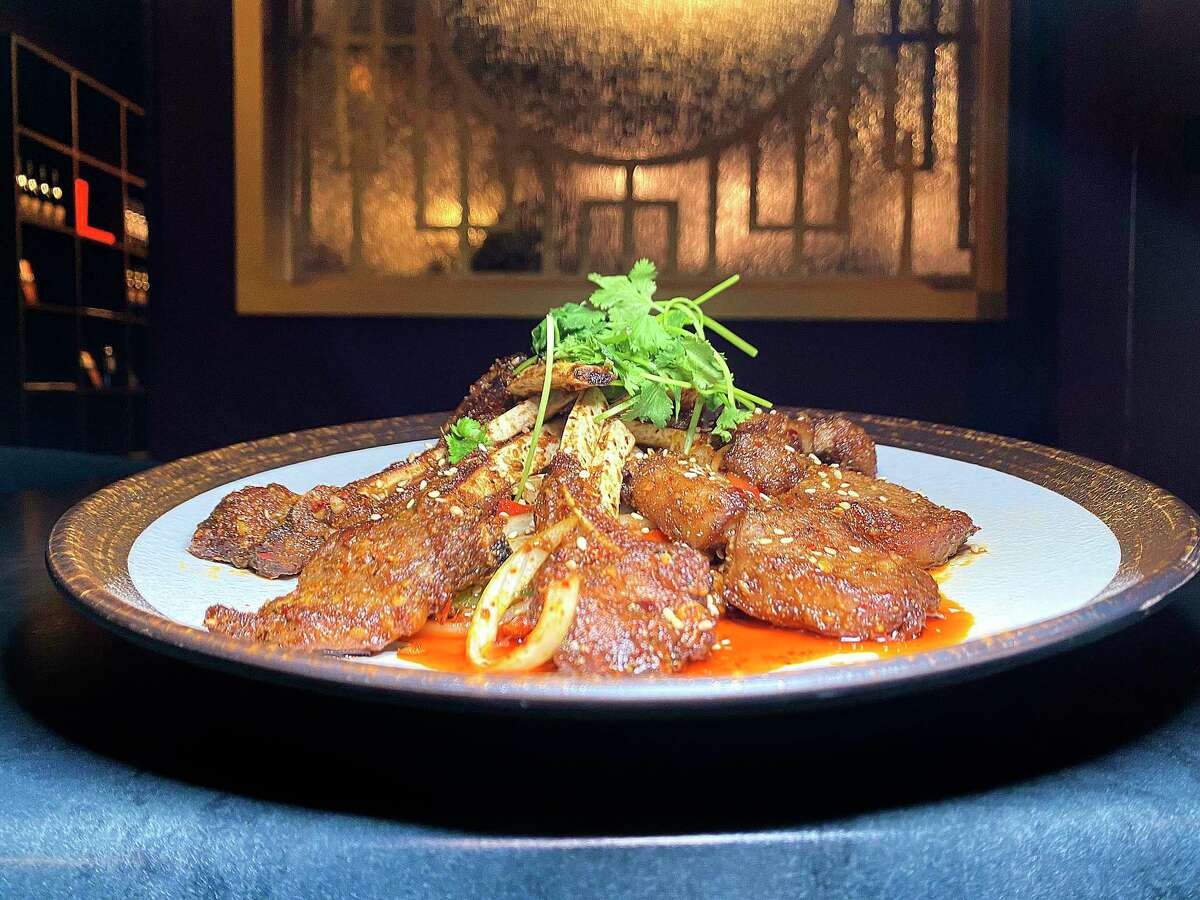 Spicy cumin lamb chops are a specialty at Dashi Sichuan Kitchen + Bar, a new Chinese restaurant from the owner of Sichuan House.