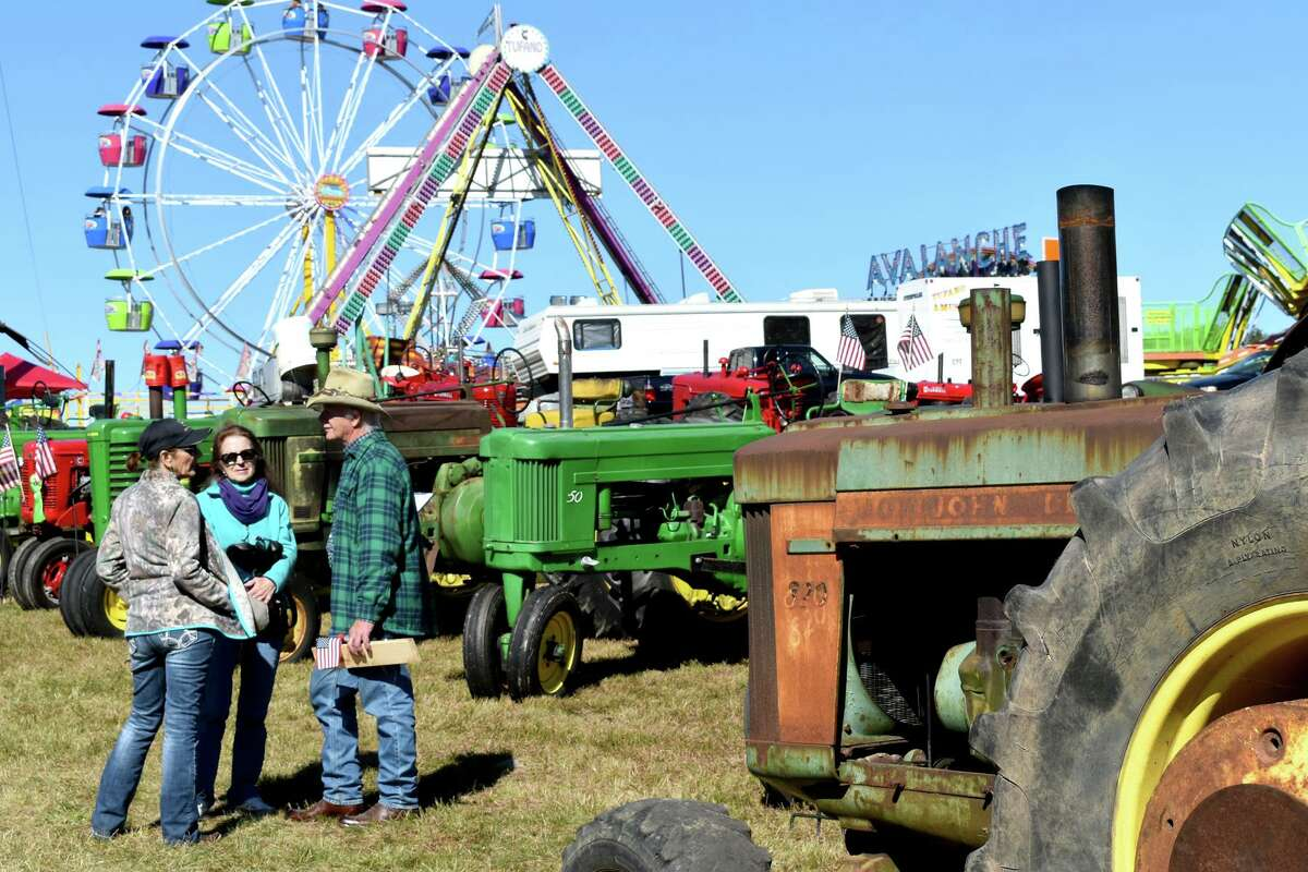 The Harwinton Fair in 2019. This year's fair opens Oct. 1 and continues through Oct. 3 at the Harwinton Fairgrounds, Locust Road, Harwinton.