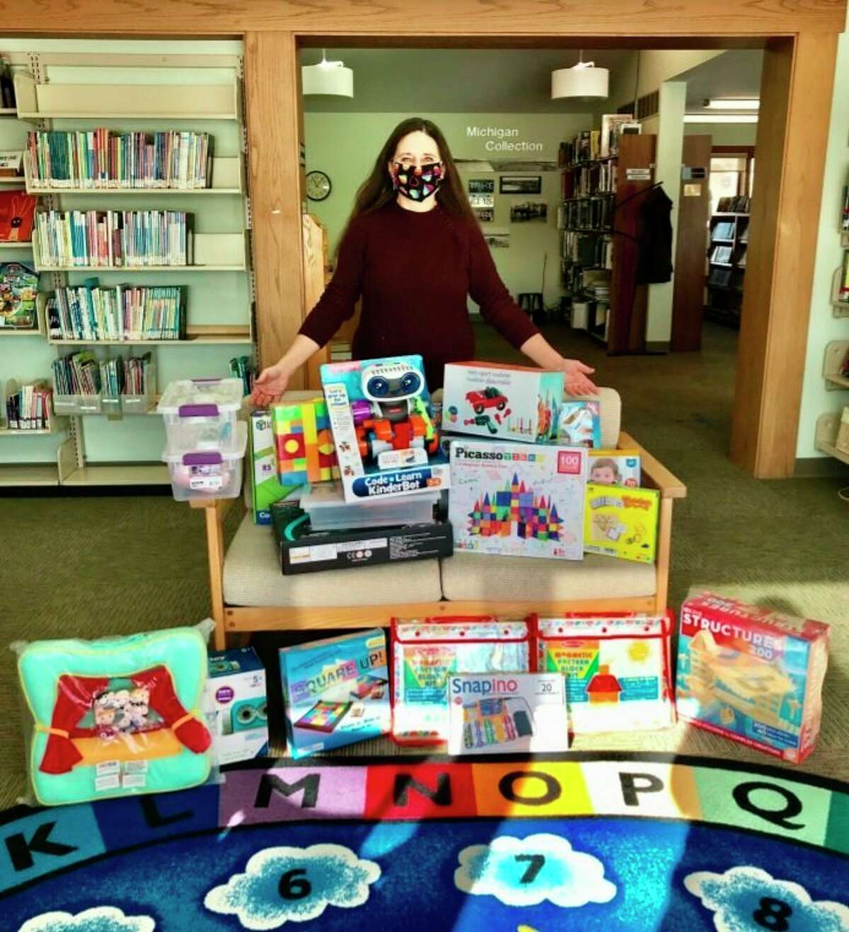 Through a partnership between Newton's Road and the Traverse Area District Library, activity kits on science, technology, engineering and math are available at libraries all throughout the region. (Courtesy Photo)
