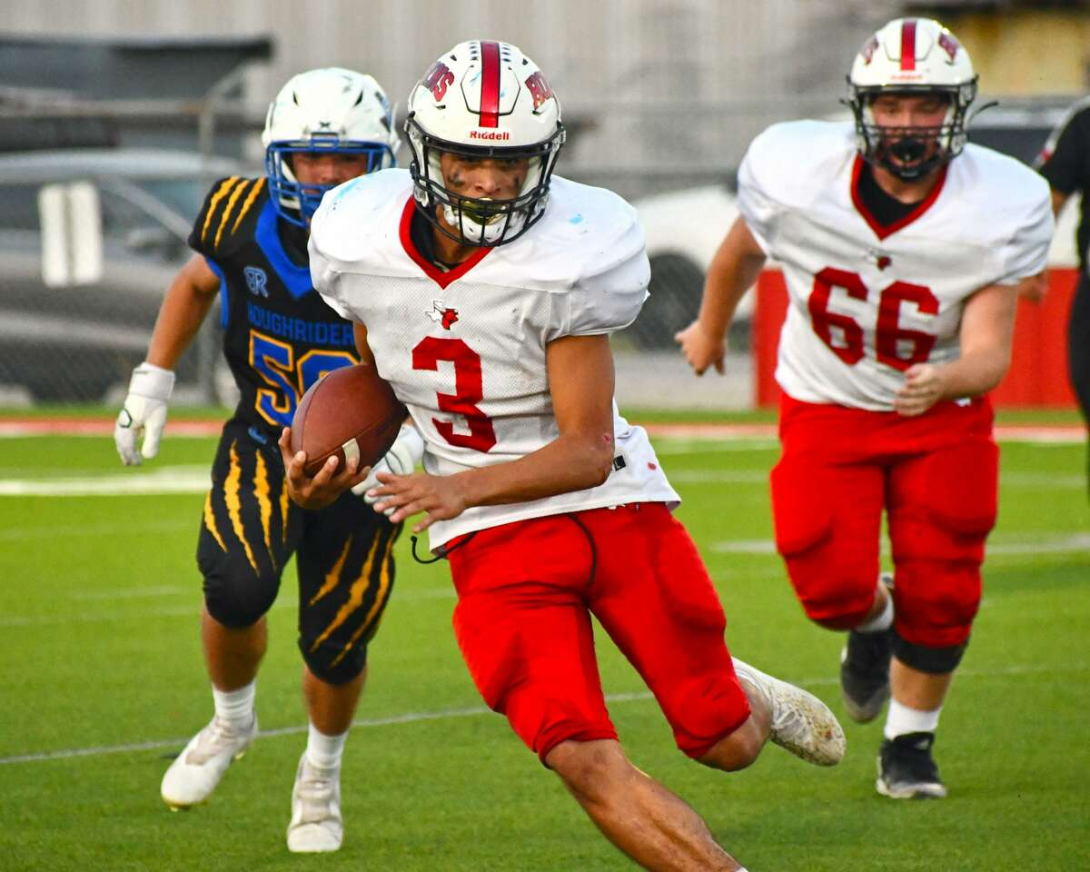Lockney's Nathan Ceniceros leads the Herald area in rushing yards as the Longhorns look to close non-district play with a win over Memphis.