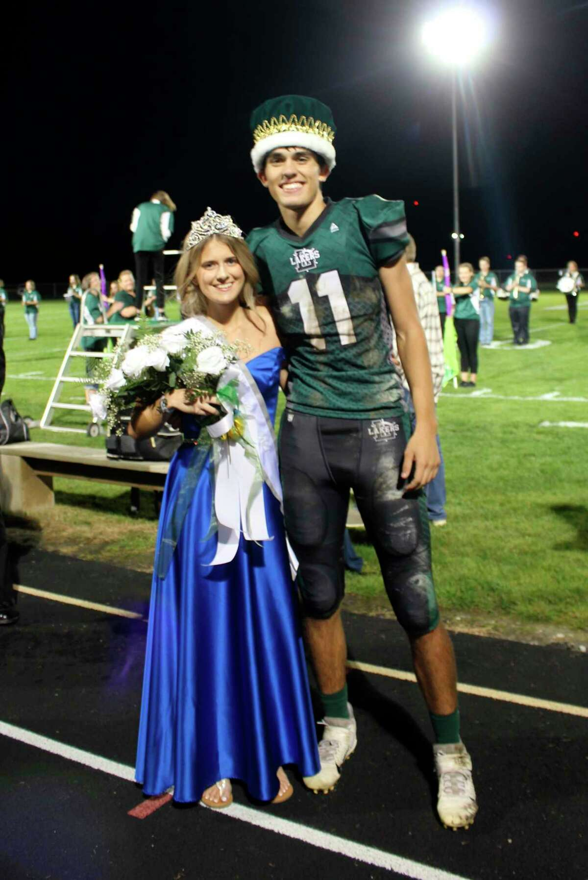 Dylan Wehner was crownedand Ryleigh Tateare crowned as the Laker Homecoming royalty. (Courtesy Photo)