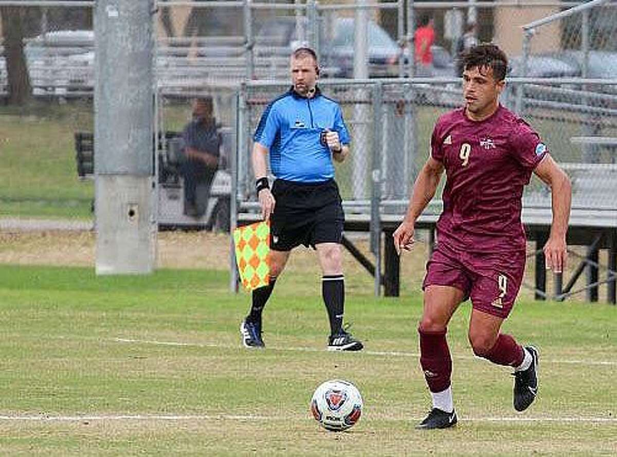 TAMIU soccer took on rival St. Mary's on Wednesday night.
