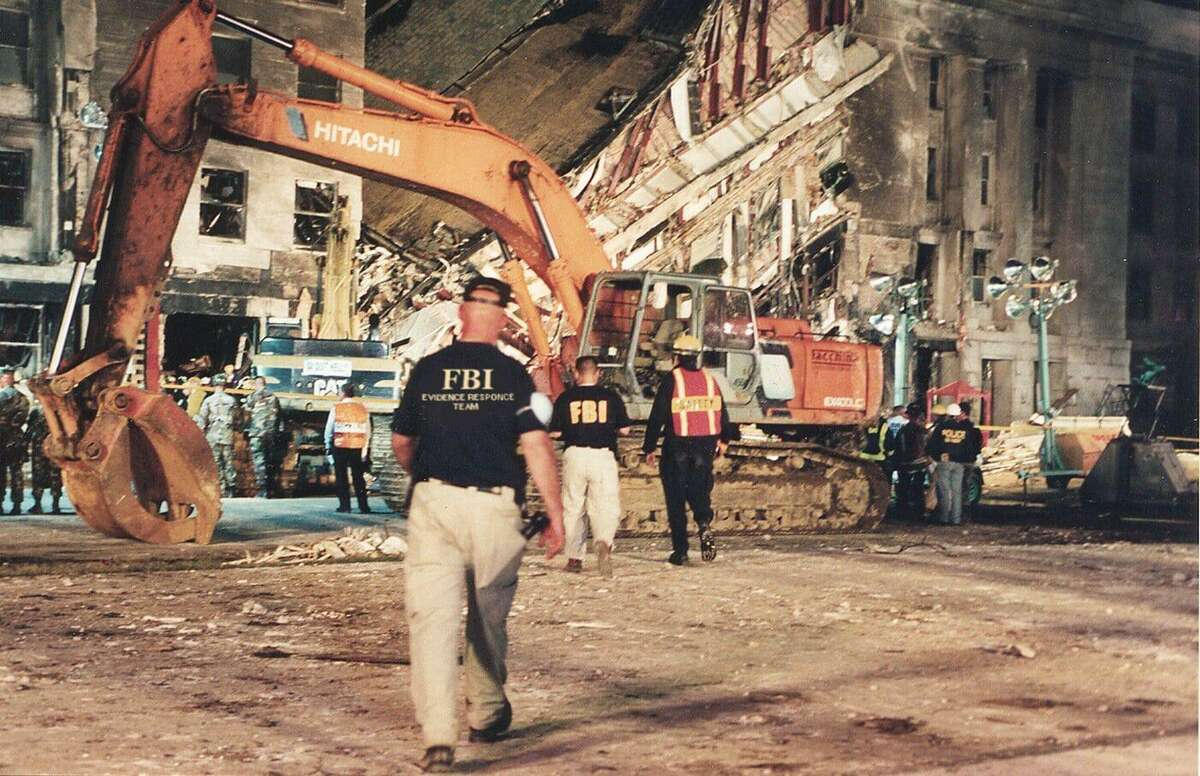 The crash sites in New York, Virginia, and Pennsylvania represented the largest crime scene in FBI history. The ensuing investigation was also without precedent; at one point, more than half of all special agents were working on some aspect of the case.