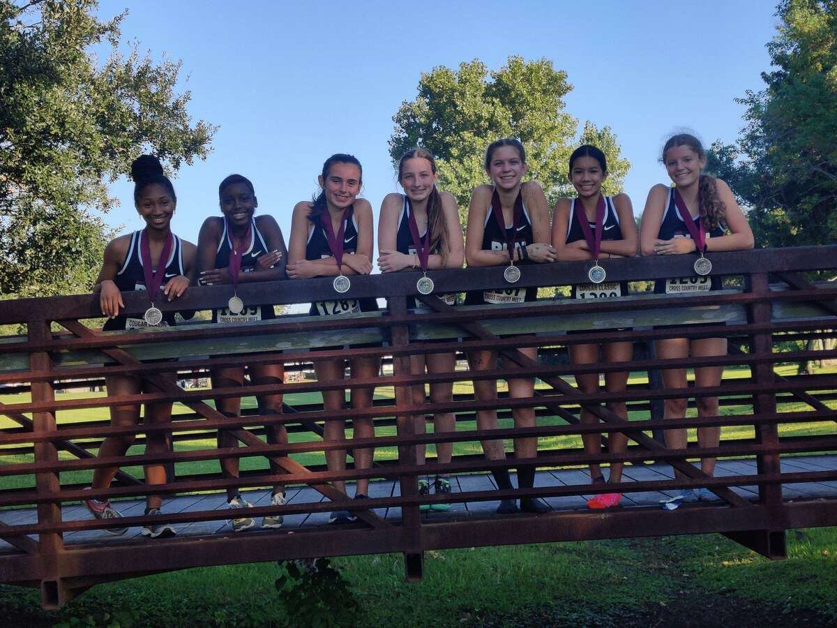 The George Ranch team of Madison Haldiman, Sophia Nguyen, Haley Harkrider, Kadyn Boettcher, Ava Curtis, Kacey Ehlen and Kianna Stamps won the Kempner Cougar Classic, Sept. 24 at Imperial Park.