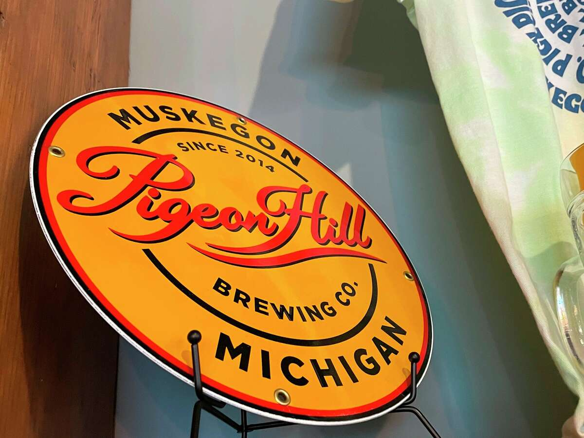 Pigeon Hill Brewing Company has recently moved to a new location in downtown Muskegon. (Amy Sherman/For Hearst Midwest)