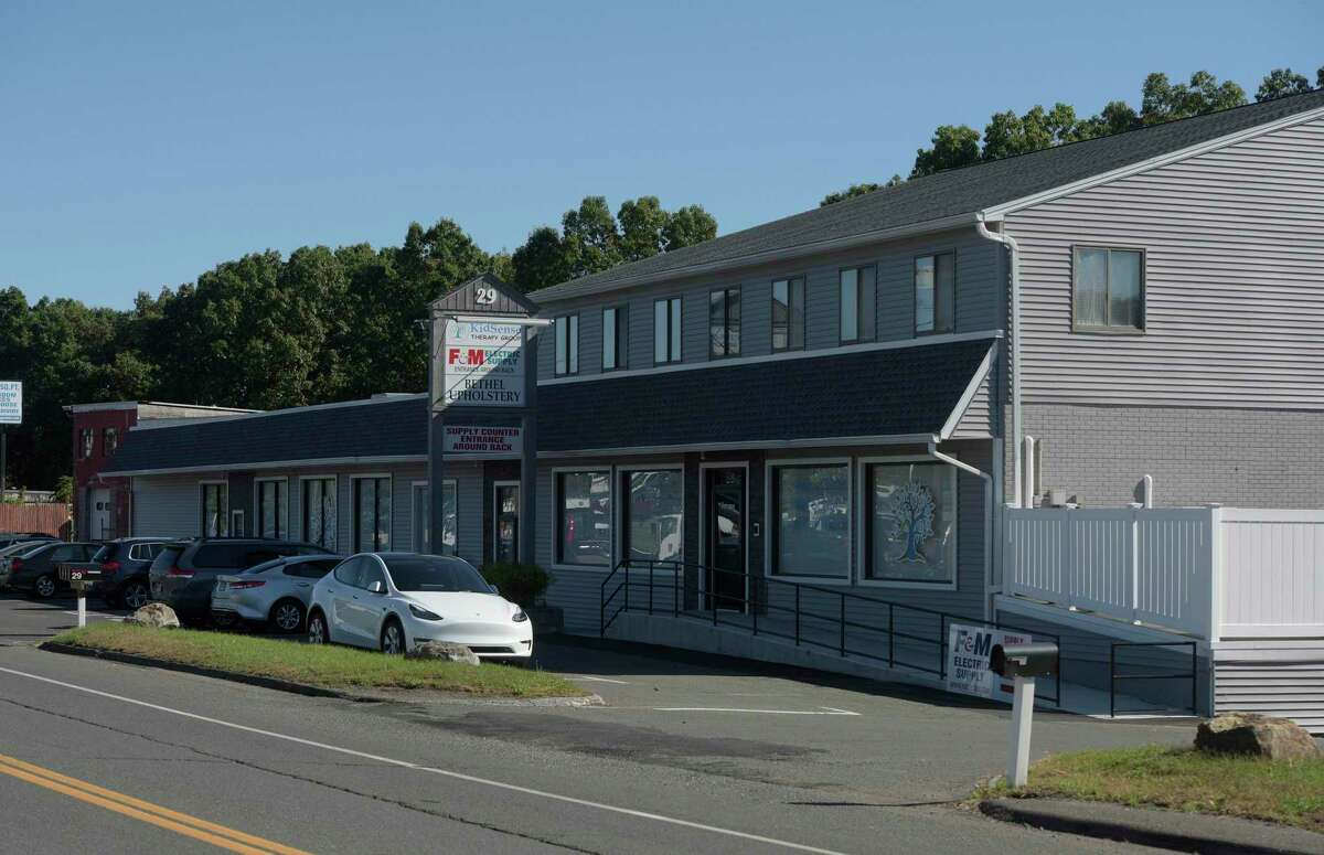 29 Federal Road is among four industrial properties seeking a change to a commercial zone in, Danbury, Conn., Wednesday, September 29, 2021.