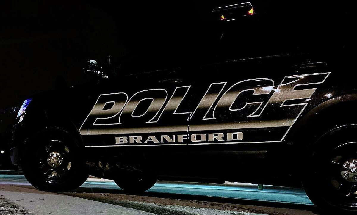 Branford police said the 16-year-old was found by the officers, who recovered the gun - found to be a BB gun.
