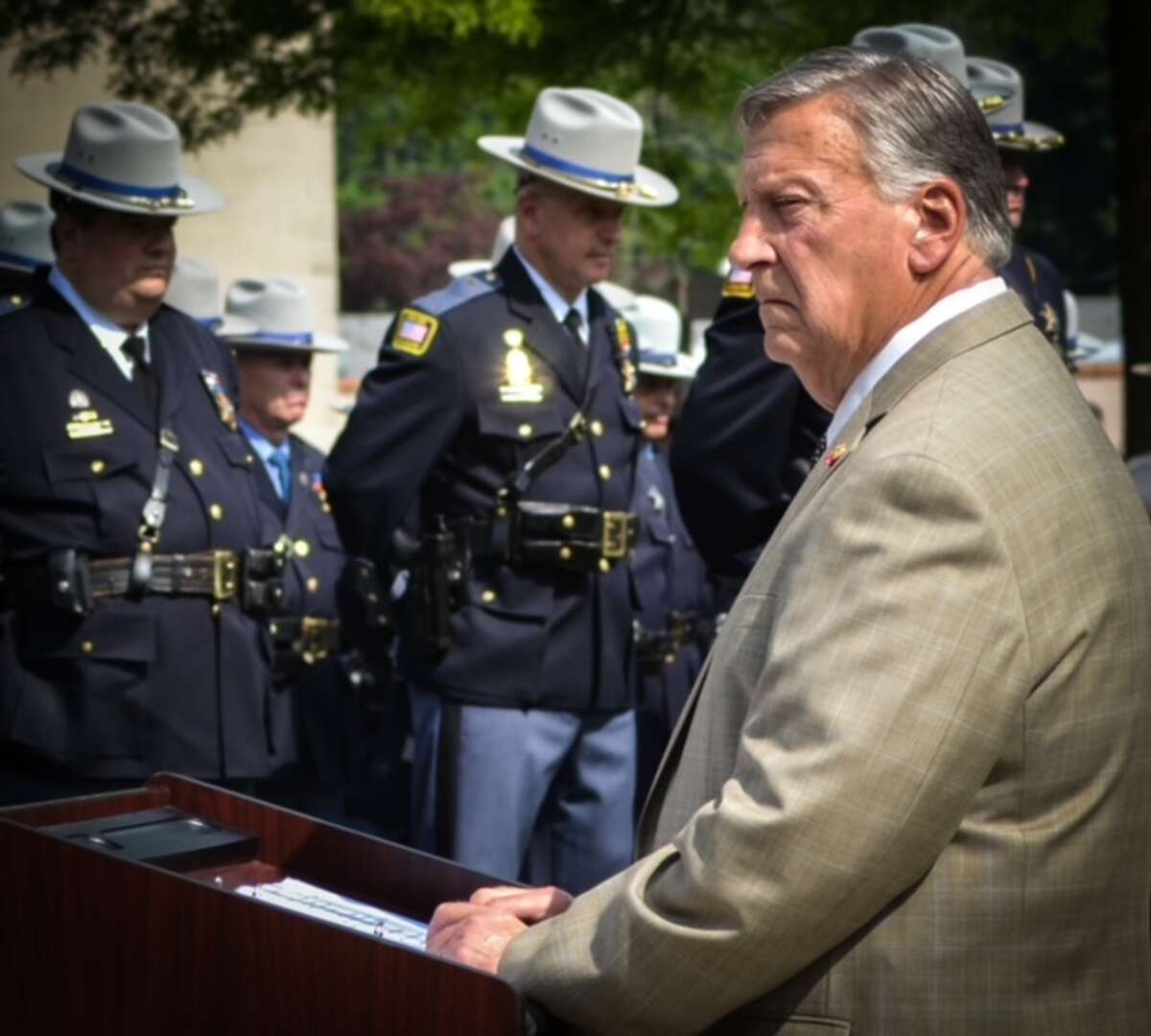 Butch Anderson rose up the ranks at the Dutchess County Sheriff's Office, where he started as deputy sheriff in 1970. He died Wednesday at his home in the Village of Pawling.