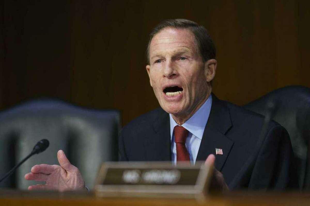 U.S. Sen. Richard Blumenthal, D-Conn., on Thursday blasted Facebook over safety.