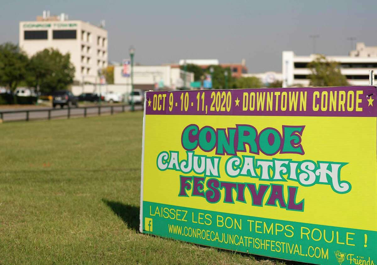 The annual Conroe Cajun Catfish Festival opens on Friday and continues through Sunday in downtown Conroe.