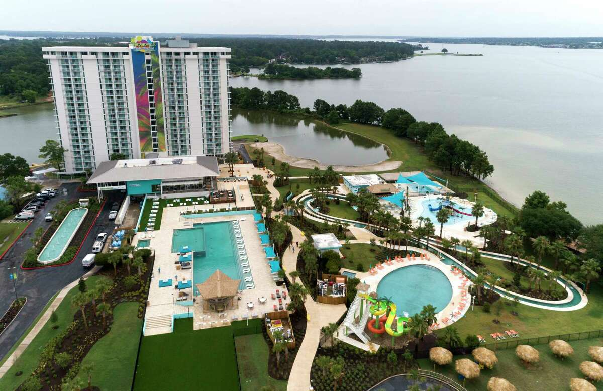 The Margaritaville Resort on Lake Conroe is a Benchmark property.