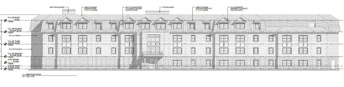 A 52-unit housing complex is being proposed at 71 Vinci Drive.