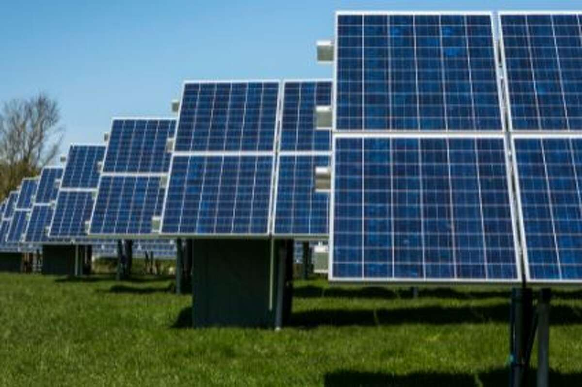 A solar farm, similar to this, proposed in Columbia County has prompted legal questions about the approval process for such projects.
